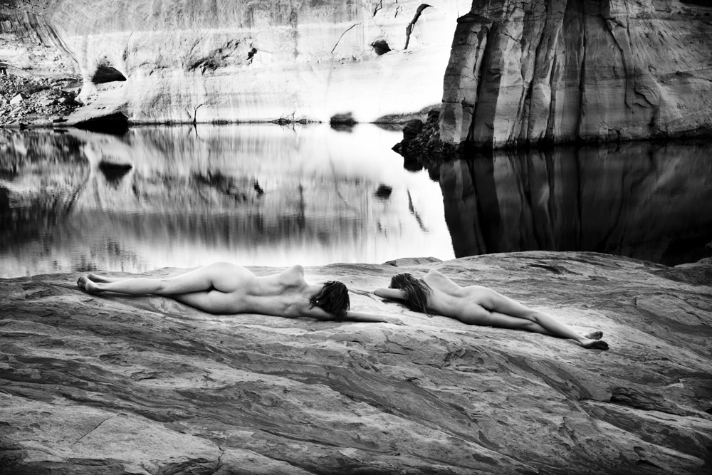 Sarah Liz and Sierra Lake Powell Water